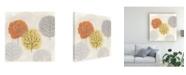 "Trademark Global June Erica Vess Forest Treasure III Canvas Art - 27"" x 33"""