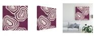 "Trademark Global June Erica Vess Bright Mineral V Canvas Art - 27"" x 33"""