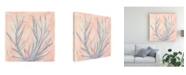 "Trademark Global Renee W. Stramel Tinted Algae I Canvas Art - 15"" x 20"""