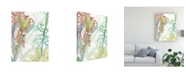 "Trademark Global Naomi Mccavitt Woven Sea Plants II Canvas Art - 20"" x 25"""