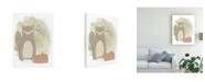 "Trademark Global June Erica Vess Woodland Whimsy III Canvas Art - 37"" x 49"""