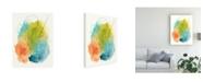 "Trademark Global June Erica Vess Chromatic Index I Canvas Art - 20"" x 25"""