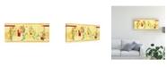 "Trademark Global Pablo Esteban Pink Overgrown Flowers Canvas Art - 27"" x 33.5"""