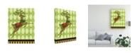 """Trademark Global Viv Eisner Harlequin Christmas I Canvas Art - 19.5"""" x 26"""""""