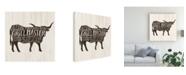 "Trademark Global Victoria Borges Farmhouse Bbq I Canvas Art - 36.5"" x 48"""