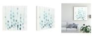 "Trademark Global June Erica Vess Indigo Threads I Canvas Art - 36.5"" x 48"""