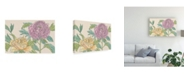 "Trademark Global Melissa Wang Peony Blooms III Canvas Art - 36.5"" x 48"""