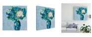 "Trademark Global Regina Moore Chaos Floral II Canvas Art - 15.5"" x 21"""