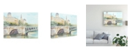 "Trademark Global Ethan Harper French Bridge Study IV Canvas Art - 19.5"" x 26"""