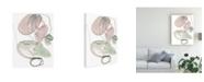 "Trademark Global Jennifer Paxton Parker Sea Glass Stack III Canvas Art - 19.5"" x 26"""
