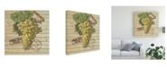 "Trademark Global Nobleworks Inc. Grape Crate V Canvas Art - 36.5"" x 48"""