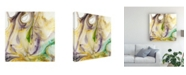 "Trademark Global Sharon Chandler Tidal Spring III Canvas Art - 19.5"" x 26"""
