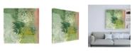 "Trademark Global Joyce Combs Floral Breeze II Canvas Art - 15.5"" x 21"""