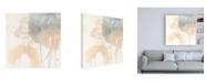 "Trademark Global June Erica Vess Blush Beacon II Canvas Art - 15.5"" x 21"""