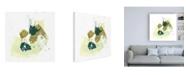 "Trademark Global June Erica Vess Midori IX Canvas Art - 15.5"" x 21"""