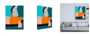 "Trademark Global Regina Moore Reunification III Canvas Art - 19.5"" x 26"""