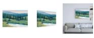 "Trademark Global Tim OToole Mountain Retreat II Canvas Art - 36.5"" x 48"""