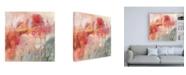 "Trademark Global Victoria Borges Incendies II Canvas Art - 36.5"" x 48"""