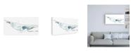 "Trademark Global June Erica Vess Cetacea Humpback Canvas Art - 36.5"" x 48"""