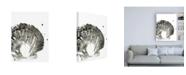 "Trademark Global June Erica Vess Ink Coast II Canvas Art - 27"" x 33.5"""