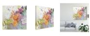 "Trademark Global Sheila Golden Garden of the Dragonfly Canvas Art - 20"" x 25"""
