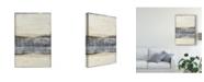 "Trademark Global Jennifer Goldberger Divided Horizon I Canvas Art - 20"" x 25"""
