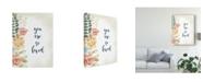 """Trademark Global Studio W Baby Girl II Canvas Art - 15"""" x 20"""""""