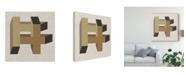 "Trademark Global June Erica Vess Geometric Perspective VI Canvas Art - 15"" x 20"""