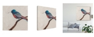 "Trademark Global Sandra Iafrate Bird Profile I Canvas Art - 15"" x 20"""