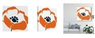 "Trademark Global Wild Apple Portfolio Pop Art Floral III Canvas Art - 15"" x 20"""