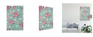 "Trademark Global Janelle Penner Live in Bloom Step 02C Canvas Art - 20"" x 25"""