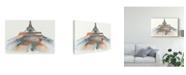 "Trademark Global Melissa Wang View of Eiffel I Canvas Art - 15"" x 20"""