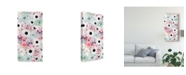 "Trademark Global Prunis Dulcis Cloud Flowers I Canvas Art - 15"" x 20"""