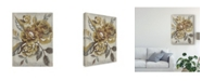 "Trademark Global Chariklia Zarris Honeyed Blooms I Canvas Art - 15"" x 20"""