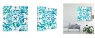 "Trademark Global Chariklia Zarris Meditation Tiles I Canvas Art - 20"" x 25"""