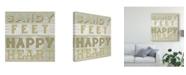 """Trademark Global June Erica Vess A Little Beachy III Canvas Art - 15"""" x 20"""""""