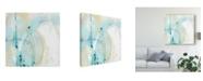 "Trademark Global June Erica Vess Sea Story I Canvas Art - 20"" x 25"""
