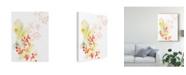 "Trademark Global June Erica Vess Sea Branch I Canvas Art - 20"" x 25"""