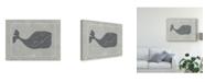 """Trademark Global Chariklia Zarris Whale of a Tale I Canvas Art - 20"""" x 25"""""""
