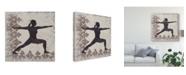 "Trademark Global Chariklia Zarris Yoga Bliss II Canvas Art - 27"" x 33"""