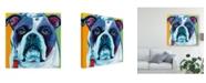 "Trademark Global Carolee Vitaletti Cute Pups II Canvas Art - 15"" x 20"""