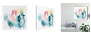 "Trademark Global June Erica Vess Intrigue I Canvas Art - 15"" x 20"""