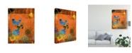 "Trademark Global Sisa Jasper Butterfly Panorama Triptych I Canvas Art - 20"" x 25"""