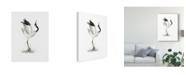 "Trademark Global Naomi Mccavitt Japanese Cranes I Canvas Art - 15"" x 20"""