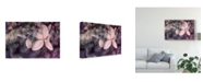 "Trademark Global Judy Stalus Purple Hydrangea Canvas Art - 15"" x 20"""