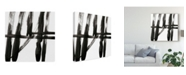"Trademark Global J. Holland Linear Expression IV Canvas Art - 20"" x 25"""