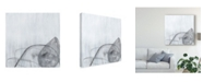 "Trademark Global June Erica Vess Premonition II Canvas Art - 20"" x 25"""