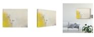 "Trademark Global Sue Jachimiec Yellow Lux I Canvas Art - 37"" x 49"""