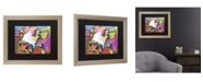 """Trademark Global Pat Saunders-White Cold Hands Matted Framed Art - 27"""" x 33"""""""