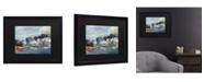 """Trademark Global Richard Wallich Dock Matted Framed Art - 15"""" x 20"""""""